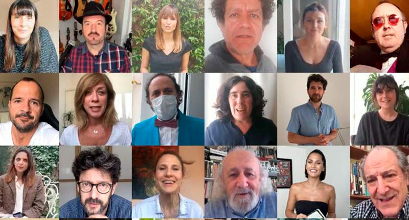 El mundo de la cultura se reivindica en la presentación de los Premios Fugaz 2020