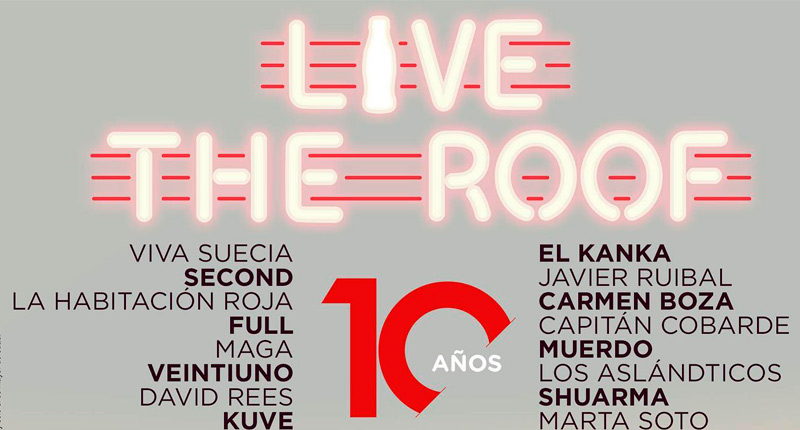Regresa el ciclo de conciertos Live the Roof