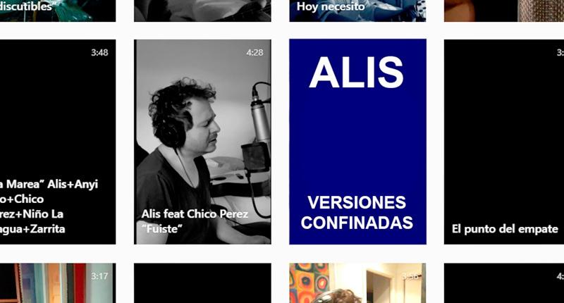 ALIS se rodea de grandes colaboradores en su disco recopilatorio 'Versiones Confinadas'
