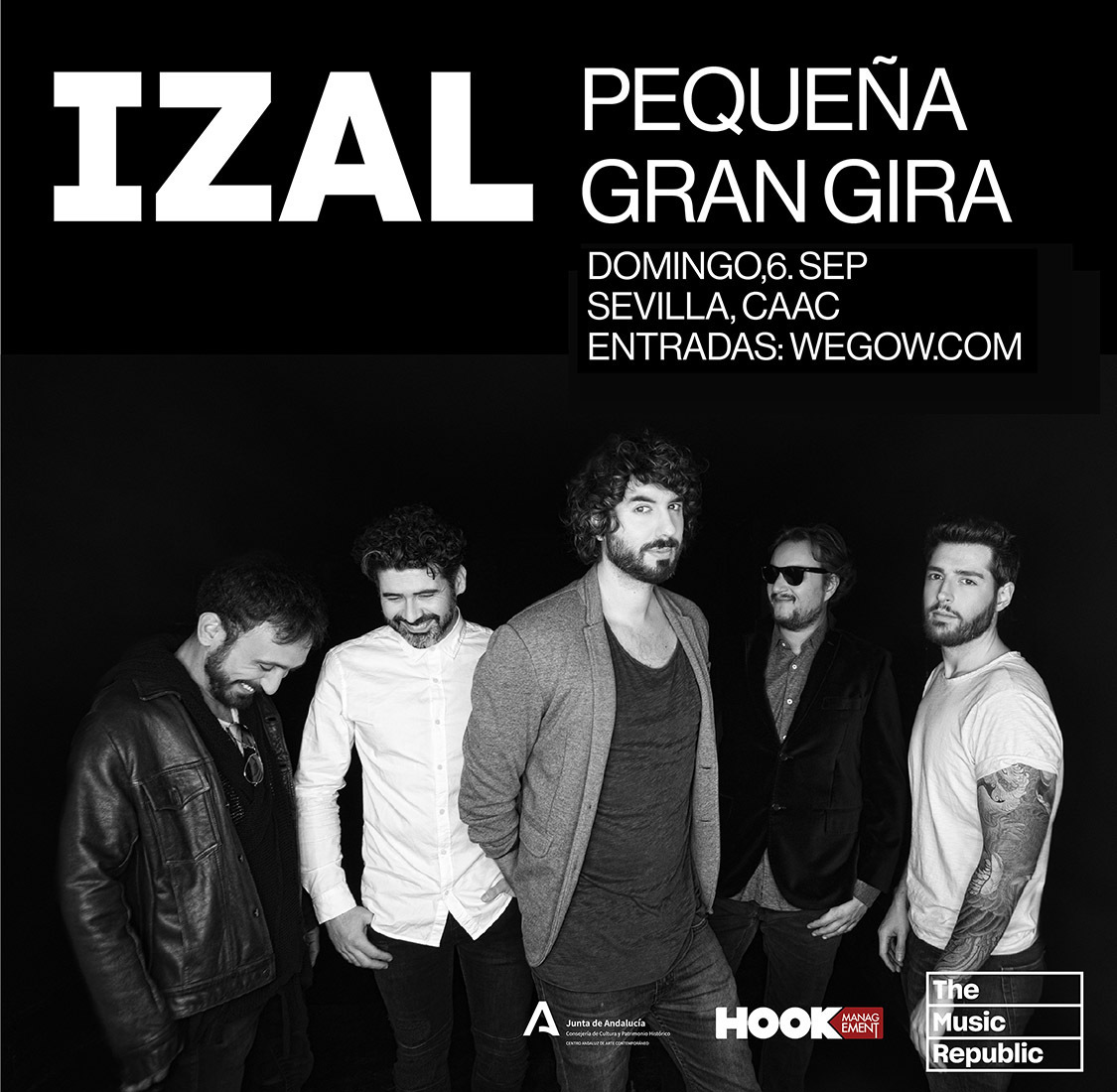 Izal lleva a Granada y Sevilla en septiembre su Pequeña Gran Gira