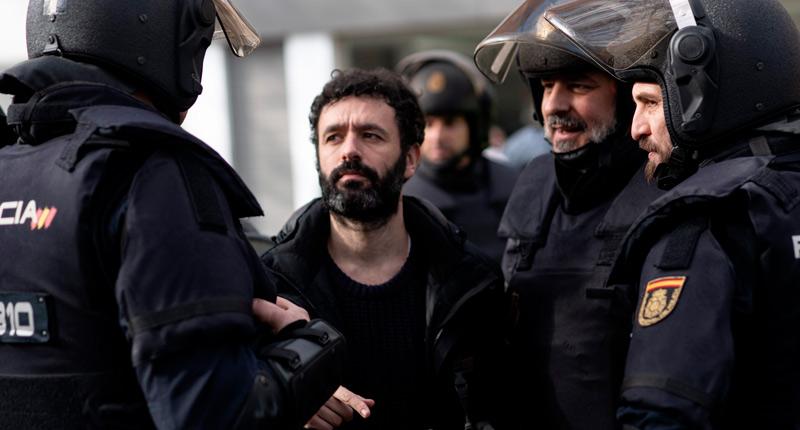 Rodrigo Sorogoyen estrena Antidisturbios en octubre