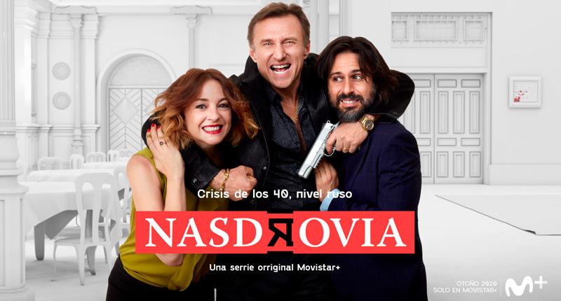 Nasdrovia, la serie protagonizada por Leonor Watling y Hugo Silva, ya tiene cartel oficial