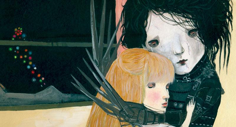 """Irene Mala: """"Me interesaba, más que Tim Burton en sí, cómo se conformó, quién es él y el por qué de que sea así"""""""
