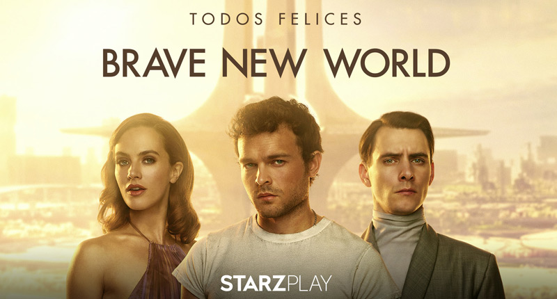 Starzplay trae a España la serie Brave New World