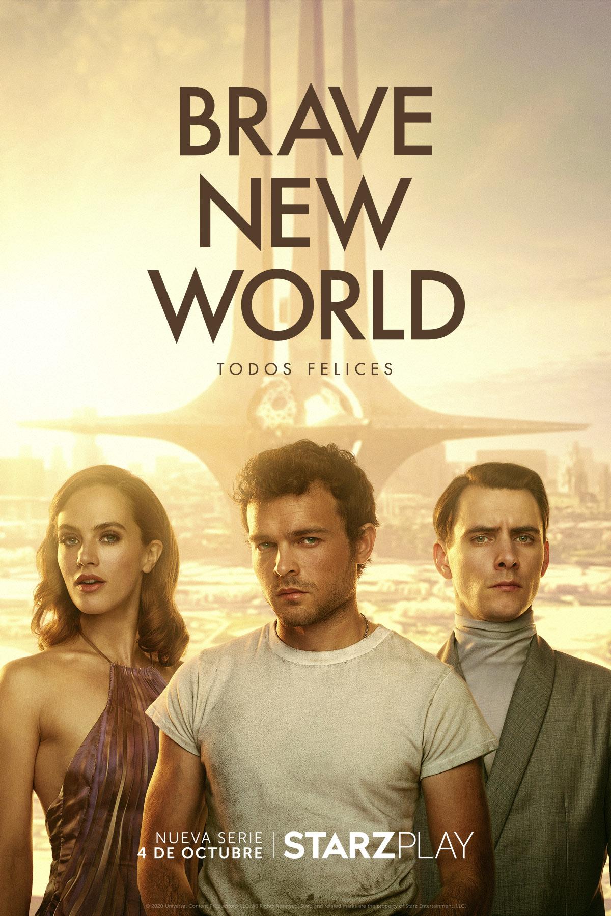 Starzplay trae a España la serie Brave New World