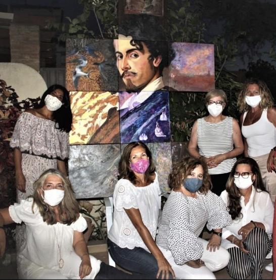 Doce pintoras exponen en el Antiquarium de Sevilla su visión sobre Gustavo Adolfo Bécquer