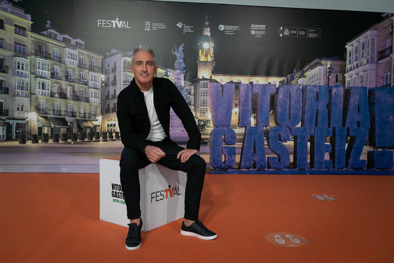 Jon Sistiaga presenta el documental 'Miedo' en el FesTVal de Vitoria