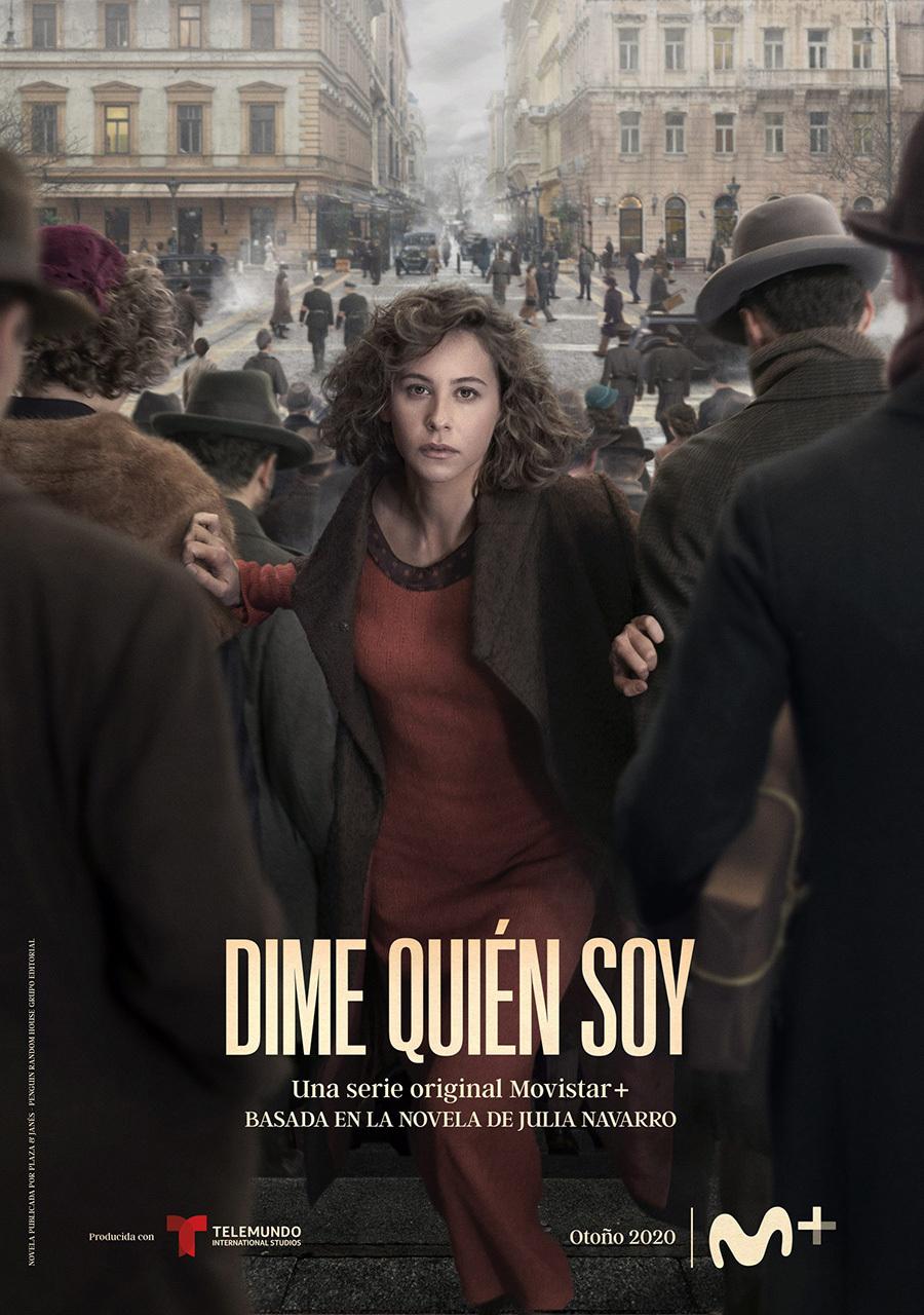 Presentado el cartel oficial de Dime quién soy, la nueva serie de Movistar+