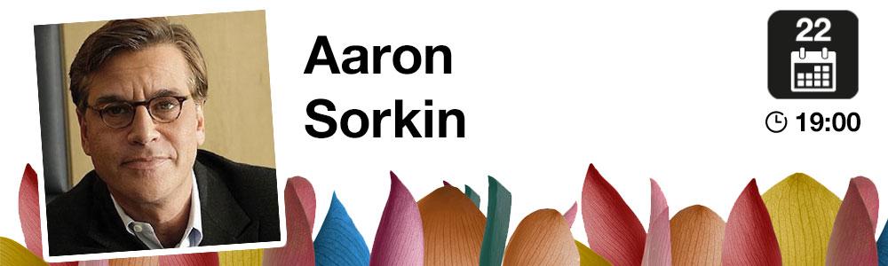 Aaron Sorkin, Francisco Ramos, Ted Hope y Marc Orts, protagonistas en el Festival de San Sebastián de conversaciones y clases magistrales