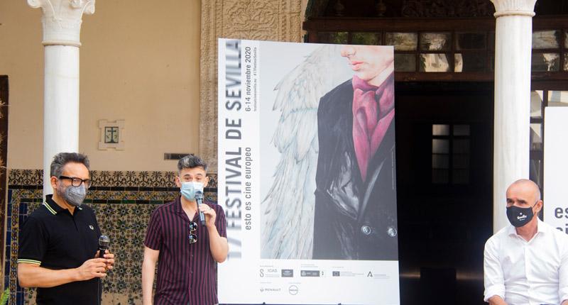 El Festival de Cine de Sevilla presenta su 17 edición exhibiendo su cartel inspirado en Wim Wenders
