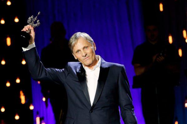 Viggo Mortensen recibe el Premio Donostia del Festival de San Sebastián