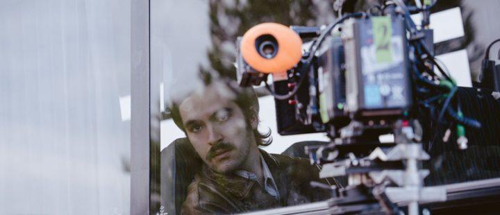 Óscar Aibar rueda su nueva película, 'El sustituto'