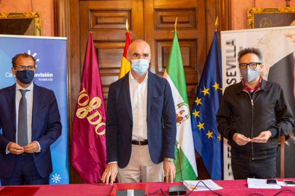 El Ayuntamiento de Sevilla y la RTVA firman un acuerdo de colaboración con el Festival de Sevilla