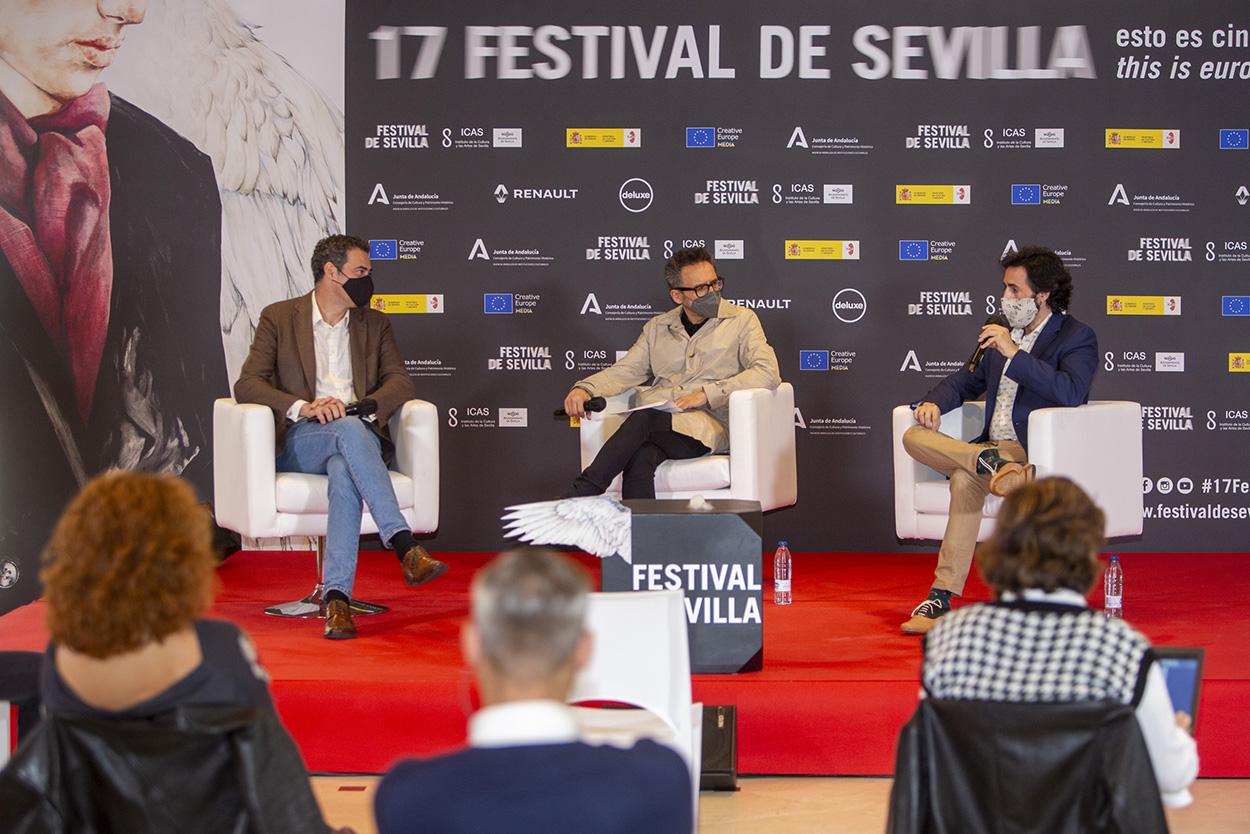 Segunda jornada: el Festival de Cine de Sevilla busca alianzas en Madrid