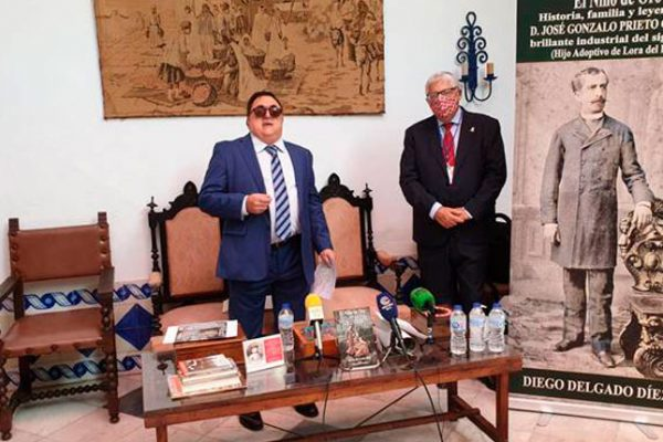 Diego Delgado rescata la figura del loreño José Gonzalo Prieto