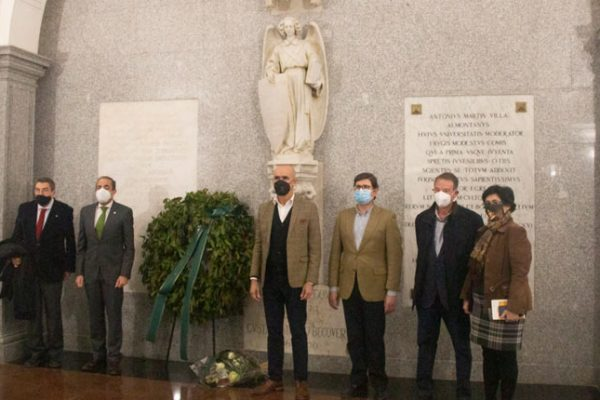 El Año Bécquer se clausura en el Panteón de Sevillanos Ilustres