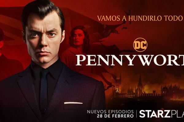 Starzplay anuncia el estreno de la nueva temporada de Pennyworth