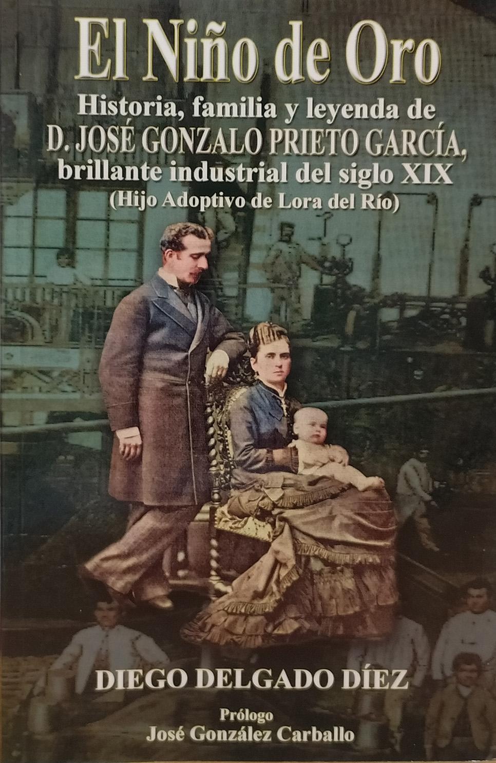 """Diego Delgado Díez: """"Con 'El niño de oro' quiero restituir la memoria de un próspero industrial del s. XIX"""""""