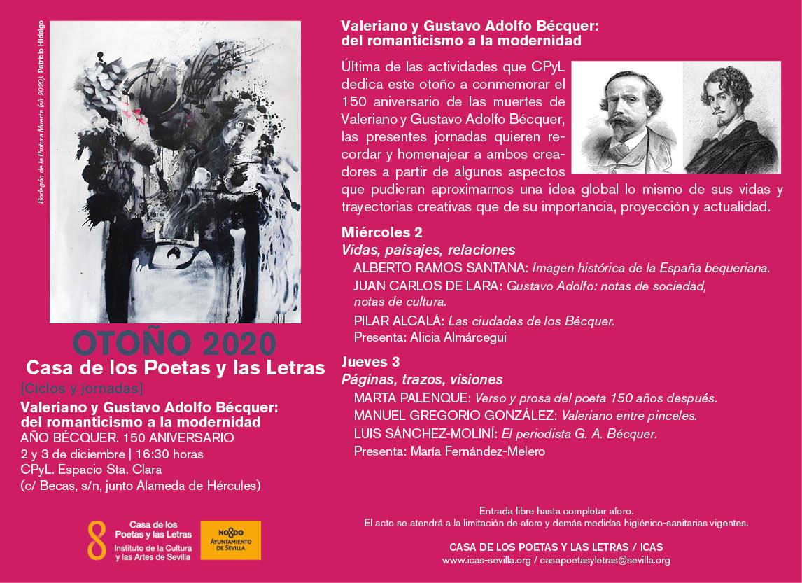 Los hermanos Bécquer, protagonistas en Sevilla en el año de su Centenario