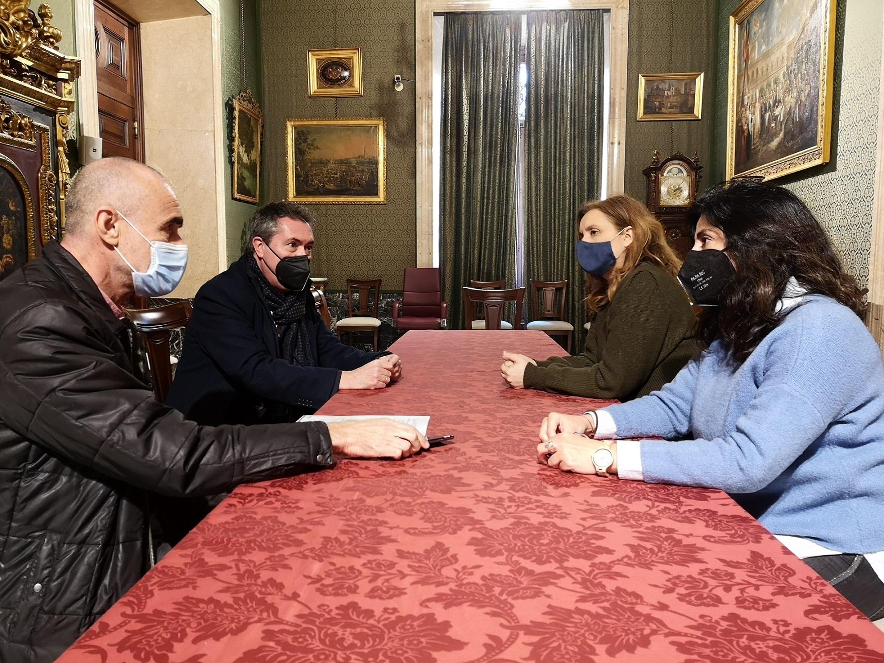 El Ayuntamiento de Sevilla cede a la Academia del Cine de Andalucía un espacio municipal para su sede