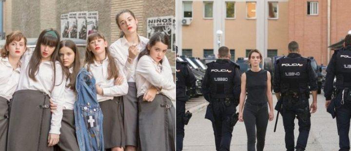 La película Las niñas y la serie Antidisturbios, ganadoras de los Premios Forqué 2021