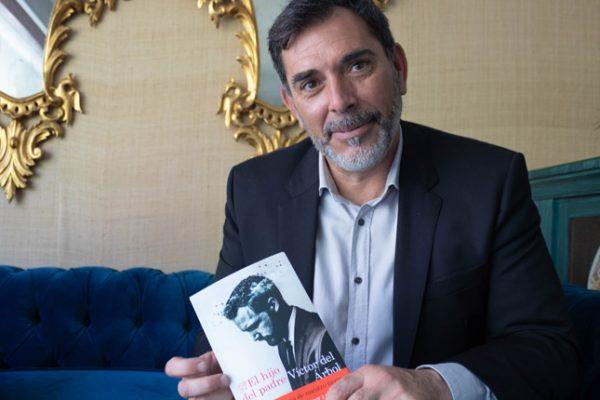 """Víctor del Árbol: """"La génesis de 'El hijo del padre' está en el hecho de ponerme en paz conmigo mismo"""""""