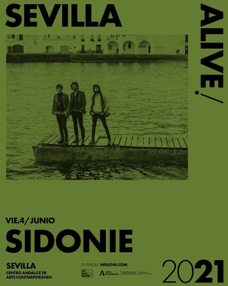 Sidonie presenta 'El regreso de Abba' en Sevilla