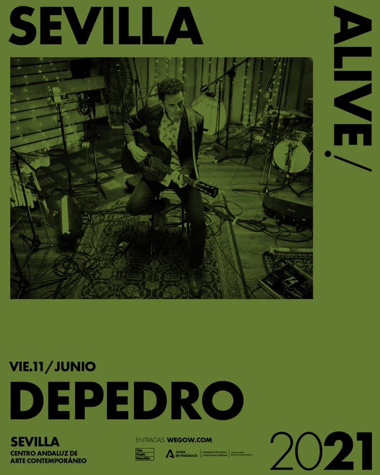 Depedro ofrece sus nuevos temas en Sevilla Alive