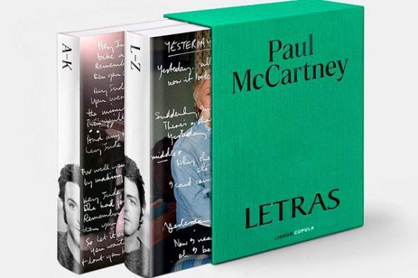 Libros Cúpula publica en noviembre Letras, la gran obra de Paul McCartney