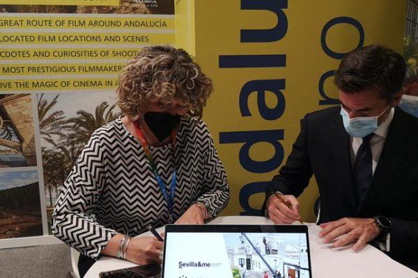 Sevilla se adhiere a la Red de Ciudades de Cine de la Andalucía Film Commission