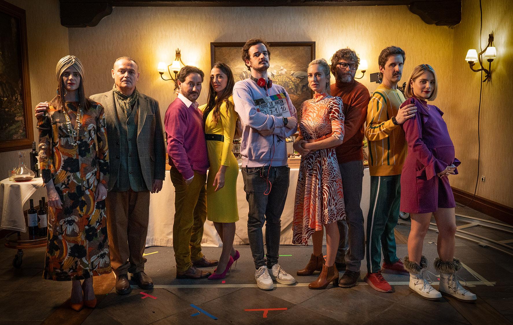 Comienza el rodaje de Todos lo hacen segundo largometraje de Martín Cuervo