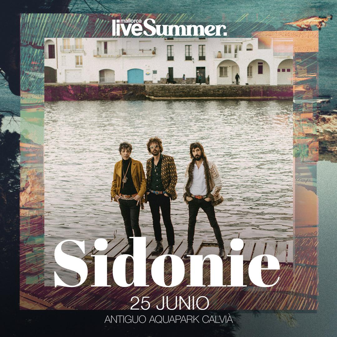 Sidonie y Mallorca Live Summer celebran un concierto piloto