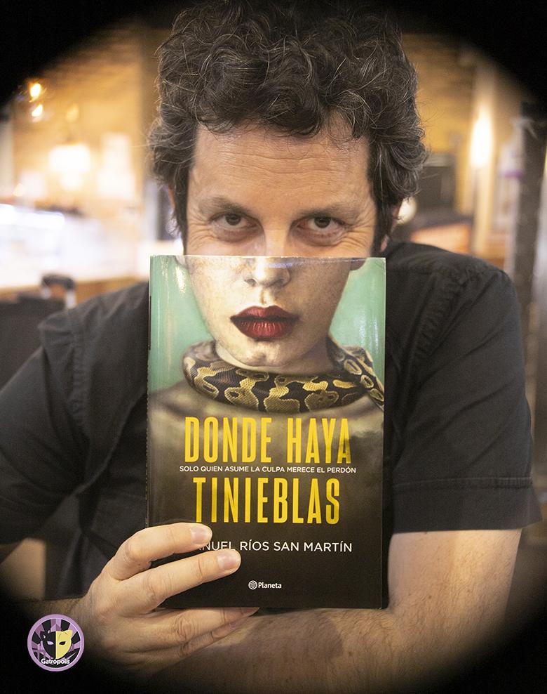 """Manuel Ríos San Martín: """"Pensé reflejar en la novela a la sociedad en que vivimos, en la que no nos entendemos"""""""