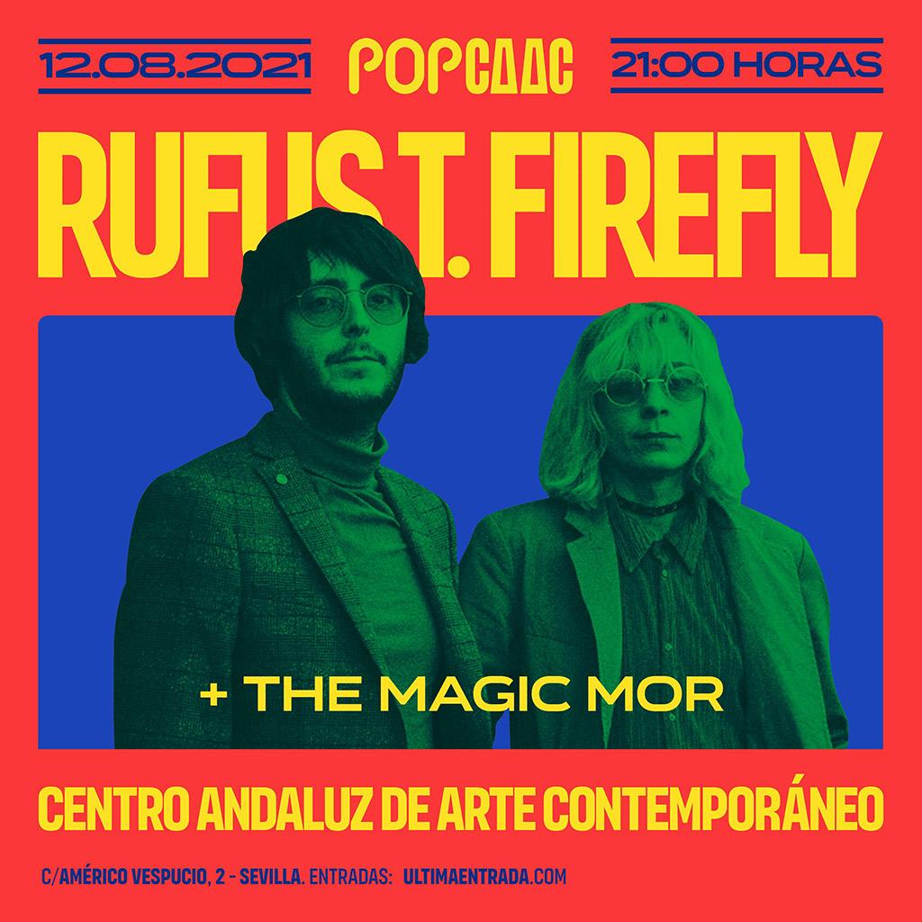Rufus T. Firefly llega a Sevilla gracias a Pop CAAC