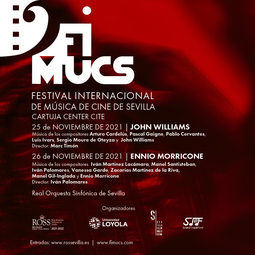 El Festival Internacional de Música de Cine de Sevilla se celebra en noviembre