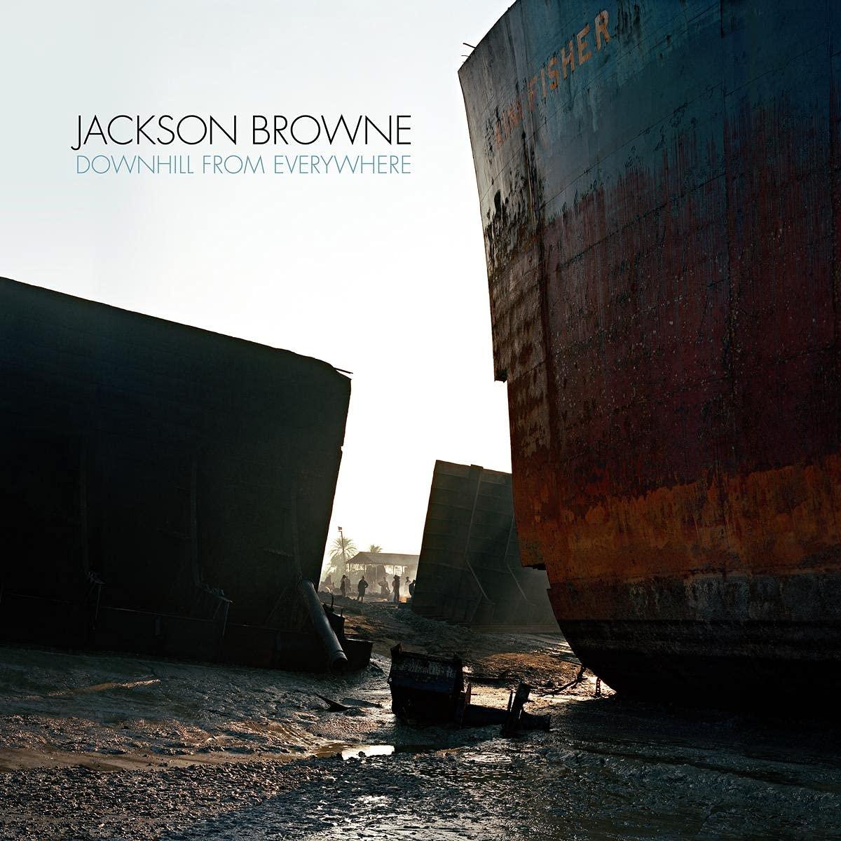 Jackson Browne advierte de la deshumanización del mundo en Downhill From Everywhere