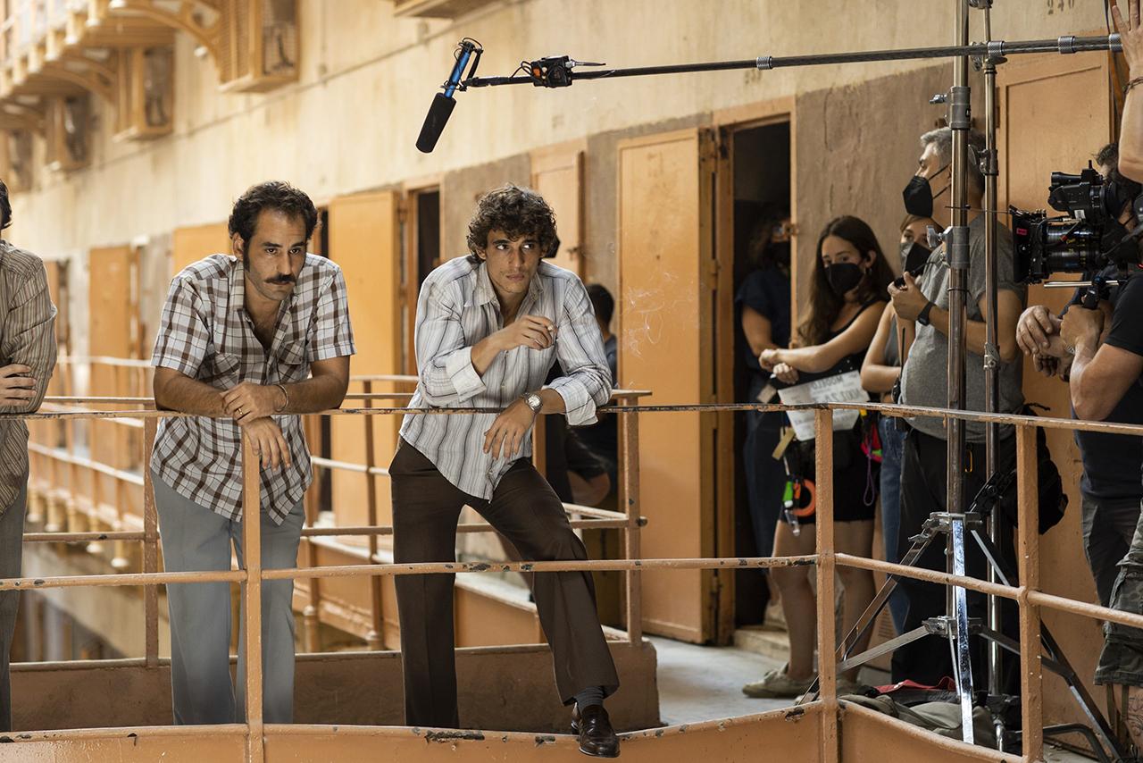Primeras imágenes de Modelo 77, la nueva película de Alberto Rodríguez