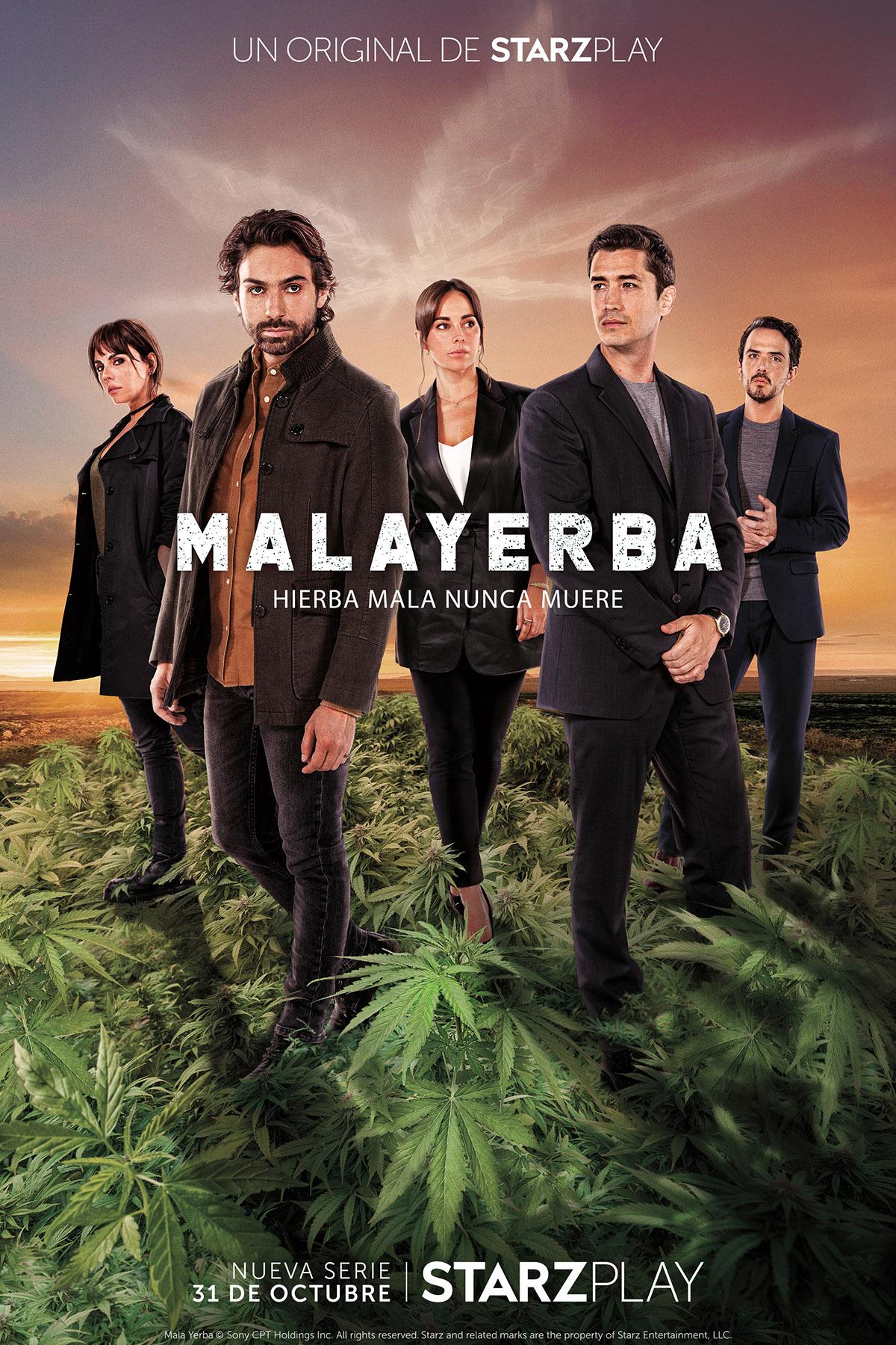 MalaYerba, la primera serie original en español de Starzplay
