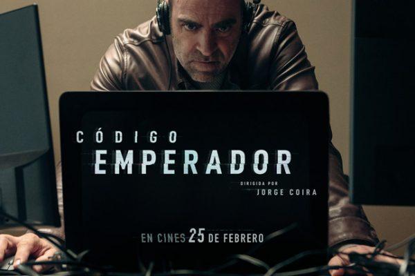 El thriller Código emperador, protagonizado por Luis Tosar, se estrena en 2022